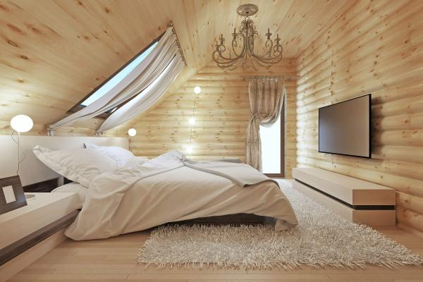 Sun Beam Lodge master bedroom